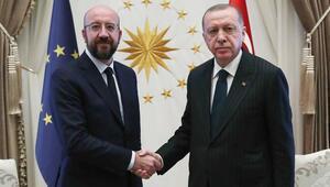 Son dakika haberler: Cumhurbaşkanı Erdoğan, Avrupa Birliği Konseyi Başkanını kabul etti