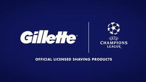 Gillette UEFA Şampiyonlar Liginde