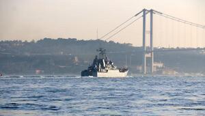 Boğazdan bir Rus savaş gemisi daha geçti