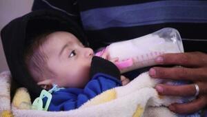 Suriyeli baba, bebeğine Türk SİHAsının adını verdi