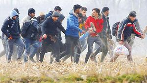Sınırda Yunan ateşi