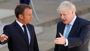 Johnson, Macronla Suriye ve Kovid-19u görüştü