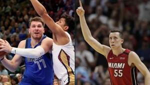 NBAde gecenin sonuçları | Rekorlar gecesi Miami Heat ve Luka Doncic...