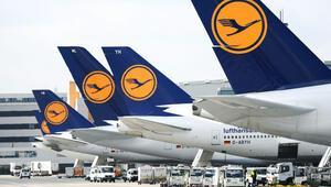 Lufthansa, virüs nedeniyle 150 uçağını yere çekiyor