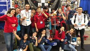 Sultans of Türkiye yeni robotuyla yarışmaya hazır