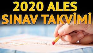 ALES 2020 başvurusu ne zaman ÖSYM tarih verdi