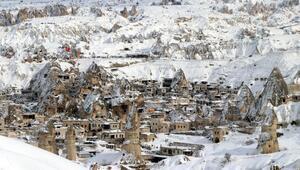 Kapadokya'yı şubat ayında 106 bin 21 turist ziyaret etti