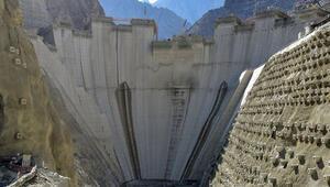 Yusufeli Barajının yüzde 76sı tamamlandı