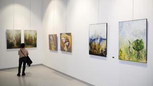 Ankaralı kadın ressamların 50nci yıl sergisi ÇSMde