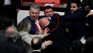 CHPli Engin Özkoça yumruk atmıştı AK Partili vekilin eli kırıldı