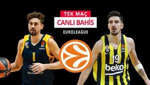 Fenerbahçe Beko, Euroleaguede kritik virajda Khimki karşısında iddaa oranı...