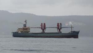 Rus askeri kargo gemisi Dvinitsa-50 Çanakkale Boğazından geçti