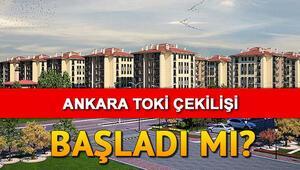 TOKİ Ankara kura sonuçları açıklanıyor – Ankara Sincan sosyal konut kura çekilişi saat kaçta