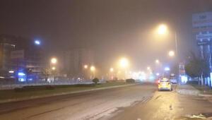 İzmirde sis etkili oldu