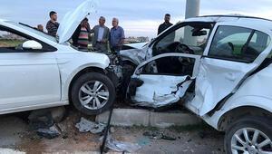 Mardinde trafik kazası: 2 yaralı