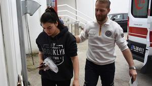 Bartında gıda zehirlenmesi şüphesiyle 107 öğrenci hastaneye kaldırıldı