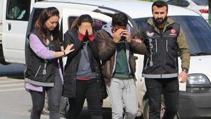 Villayı uyuşturucu serasına çeviren 2 İranlı adliyede