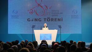 Borsa İstanbulda 8 Marta özel tören