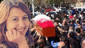 Meslektaşı tarafından öldürülen polis memuru, toprağa verildi