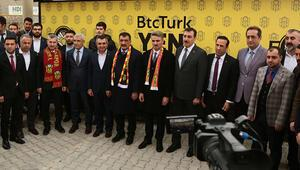 BtcTurk Yeni Malatyaspora moral ziyareti