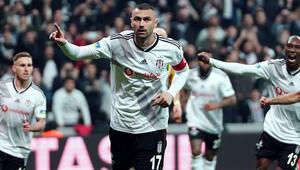 Burak Yılmaz atıyor, Beşiktaş kazanıyor