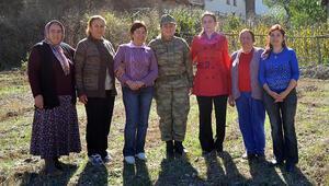 Orduda Şenay komutanın başlattığı proje, kadına şiddeti bitirdi