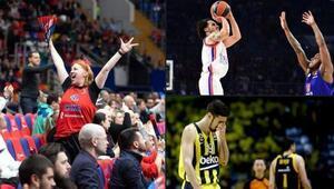 Anadolu Efes, Euroleaguede doludizgin Fenerbahçe Beko, Rusyada kayıp...