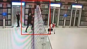 Kaçakçıların akılalmaz yöntemi Bu kare İstanbul Havalimanından...