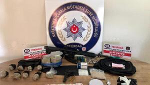 Tekirdağda uyuşturucu operasyonu: 12 gözaltı