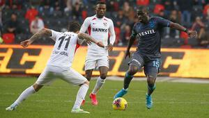 Gaziantep FK 1-1 Trabzonspor (Maç Özeti)