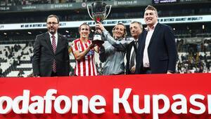 Vodafone Kupası rekorla sahibini buldu