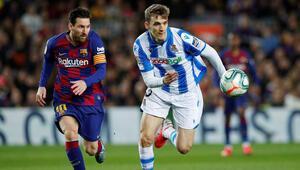 Barcelona 3 puanı Messi ile aldı