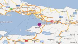 Son dakika… Marmara Denizi'nde 3.9luk deprem İstanbuldan da hissedildi