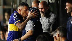 Ne yaptın Maradona Boca Juniorsun şampiyonluk maçına damga vurdu
