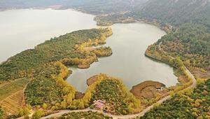 Doğa harikası Kovada Gölünün son hali içler acısı