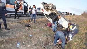 Tekirdağ'da feci kaza: 4ü çocuk 7 yaralı