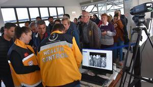 Marmaris Deniz Gümrük Kapısına termal kamera takıldı