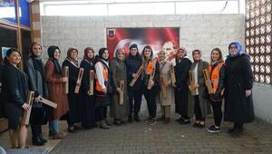 Termeli kadınlardan 8 Martta anlamlı ziyaret