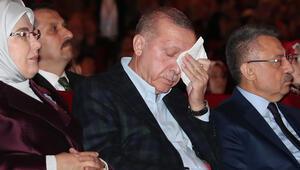 Bakanlıktan duygulandıran video Cumhurbaşkanı Erdoğan gözyaşlarını tutamadı