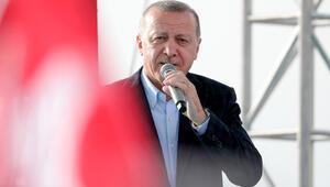 Cumhurbaşkanı Erdoğandan Kuzey Marmara Otoyolu açılışında Kanal İstanbul mesajı