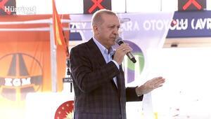 Cumhurbaşkanı Erdoğan: Kanal İstanbul, en yakın zamanda ihaleye çıkacak
