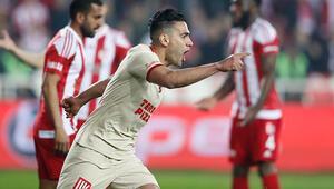 Radamel Falcao, Süper Lige damga vuruyor Taraftar çıldırdı