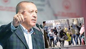 Haberler: Cumhurbaşkanı Erdoğandan Yunanistana: Sen de kapılarını aç