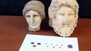 Hatayda tarihi eser kaçakçılığı operasyonunda 4 şüpheli gözaltına alındı