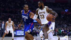 NBAde gecenin sonuçları | Los Angeles derbisinde zafer Lakersın