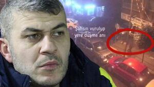 Fenerbahçenin tribün liderinin vurulma anı kamerada