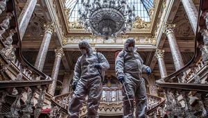 Dolmabahçe Sarayında koronavirüs önlemi