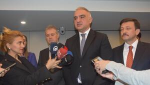 Bakan Ersoydan, Ege Turizm Merkezi - Çeşme Projesi açıklaması