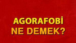 Agorafobi ne demek Aforafobi belirtileri nedir