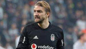 Beşiktaşta Galatasaray maçı hazırlıkları başladı Caner Erkin...